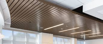 Rulon Suspended Wood Ceilings by Ceiling Experts Inc Acoustical Ceilings Contractor