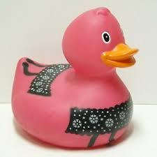ente badeente pink 25 cm badezimmer spielzeug ebay