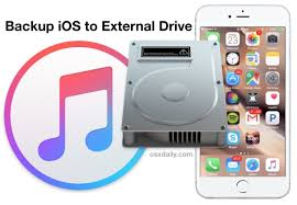 How to Backup an iPhone to External Hard Drive with Mac OS X