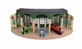 Thomas And Friends Tidmouth Sheds Wooden Railway by Fisher Price Geotrax Tracktown Railway Train Engine Remote U0026amp