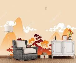 chinesische landschaft tapeten traditionellen abstrakte natur retro wandbild für wohnzimmer schlafzimmer sofa hintergrund papel de parede