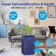 luftentfeuchter elektrische 1000ml entfeuchter geringer energieverbrauch raumentfeuchter leise dehumidifier für badzimmer schlafzimmer und