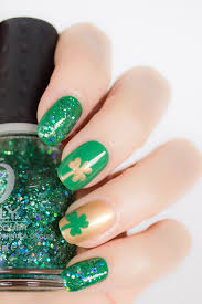 11 St Patrick s Day Nail Art Ideas That Make Wearing Green Easy