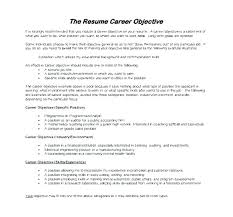 Resume Examples For Career Change Objective Teachers Samples