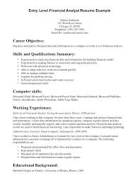 Resumes Objective Samples General Entry Level Resume Examples Career