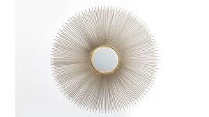 kare design spiegel sun beam für ihre wohnaccessoires