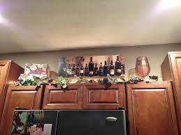 Tuscan Wine And Grape Kitchen Decor by Catchy Kitchen Decorating Ideas Wine Theme Tuscan Decor Above