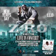 ZRo Live In Concert E² Ultra Lounge Houston 1 January