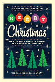 Design Inspiration New Year Poster Christmas 07