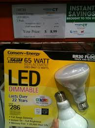 costco light bulbs iron