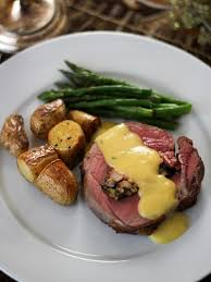 chateaubriand cuisine maine lobster stuffed chateaubriand with bearnaise sauce recipe