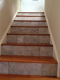 Stair Nosing For Vinyl Tile by Attractive Vinyl Plank Stair Treads John Robinson House Decor