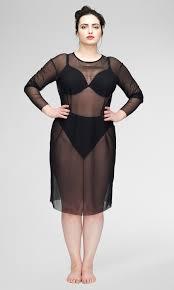 thames fog dress black womens plus size universal standard