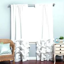 White Lace Curtains Target by White Out Curtains Velvet Blackout Drape White Curtains Blackout