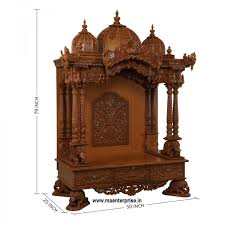 Wooden Home Temple Mandir Home Pooja Mandir Teak Wood Temple For ... Modern Mandir Design Home Finest Small Puja Room With Indian Temple For Ideas Best Free Pooja Designs Decorating 2749 Ghar360home Remodeling And Door Images About Glass Doors Interior Architects Interiors 7 Beautiful Wooden Teak Wood Pin By Bhoomi Shah On Diy White Gold