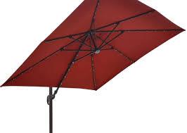 Sunbrella Patio Umbrellas Amazon by Patio U0026 Pergola Island Umbrella Santorini Ii Fiesta 10 Ft Square