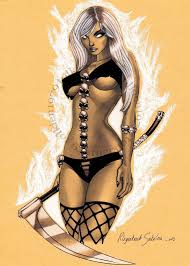 Drawing Sketch Comics Repro Limited Edition High Quality 10 Lady Death 11 Art