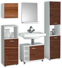 vcm badmöbel set 5 tlg badset komplettset bad badezimmer