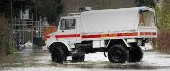 100 All Wheel Drive Trucks Cologne Uses Extreme Offroad Unimog In Floods MBS World