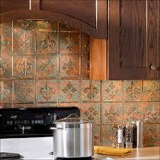 Copper Tiles For Backsplash by Kitchen Backsplash Tile Ideas Backsplash Kit Fasade Backsplash