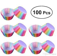 Pvc Bucket Rainbow Cake Paper Cup Baking Muffin Chocolate Glutinous Rice Tray Packaging About Receita Se Cupcake Tradicional De