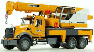 100 Bruder Mack Granite Liebherr Crane Truck MACK Crane Truck Gordys Novelties