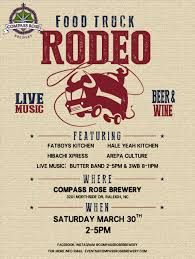 100 Truck Rodeo Compass Rose Food Raleigh NC 27615
