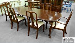 Used Ethan Allen Wingback Chairs by Chair Miller Dining Table Tables Ethan Allen Room Chairs
