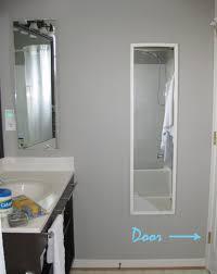Cabidor Classic Storage Cabinet With Mirror by Behind Door U0026