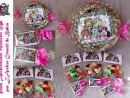 boutique pack anniversaire high gateau de bonbons