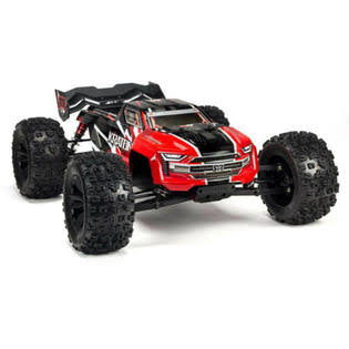 Arrma 1/8 Kraton 6s 4WD BLX Speed Monster Truck RTR Red