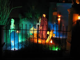 Halloween Yard Stake Lights by Best 25 Outdoor Halloween Lights Ideas On Pinterest Diy Outdoor