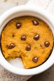Healthy Chocolate Pumpkin Desserts by Skinny Single Serving Pumpkin Chocolate Chip Mug Cake Amy U0027s