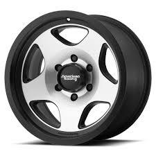 100 American Racing Rims For Trucks 15 AR923 Satin Black Machined 15x8 Wheel SET 15INCH