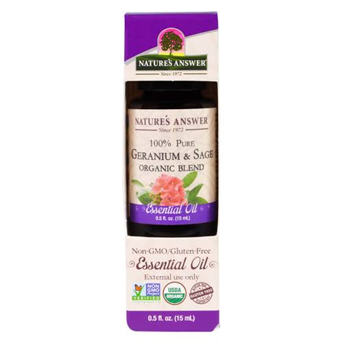 Nature's Answer Essential Oil - Geranium & Sage