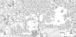 Secret Garden Adult Colouring Books Johanna Basford