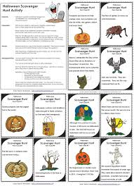 Halloween Brain Teasers Worksheets by Scavenger Hunt
