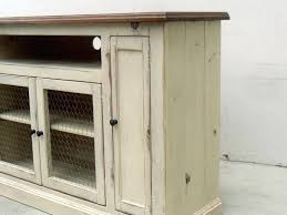 Diy Shabby Chic Entertainment Center Console Tv Stand Reclaimed Wood