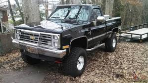 HARD TO FIND A CHEVY SHORT BED 4X4 TRUCK LIKE THIS**