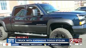 Man Searching For Stolen Truck, Work Tools - KJRH.com