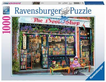 Ravensburger The Bookshop Jigsaw Puzzle - 1000 Piece