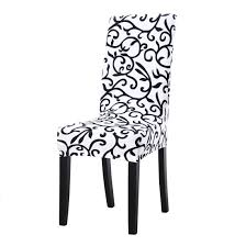 Uxcell Dining Chair Cover,Stretch Bar Stool Slipcover Kitchen Pattern Chair  Protector Spandex Short Chair Seat Cover For Home Decorative/Dining ...