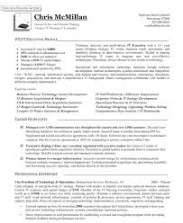 Vp Of It Resume Vice President Operations Executive