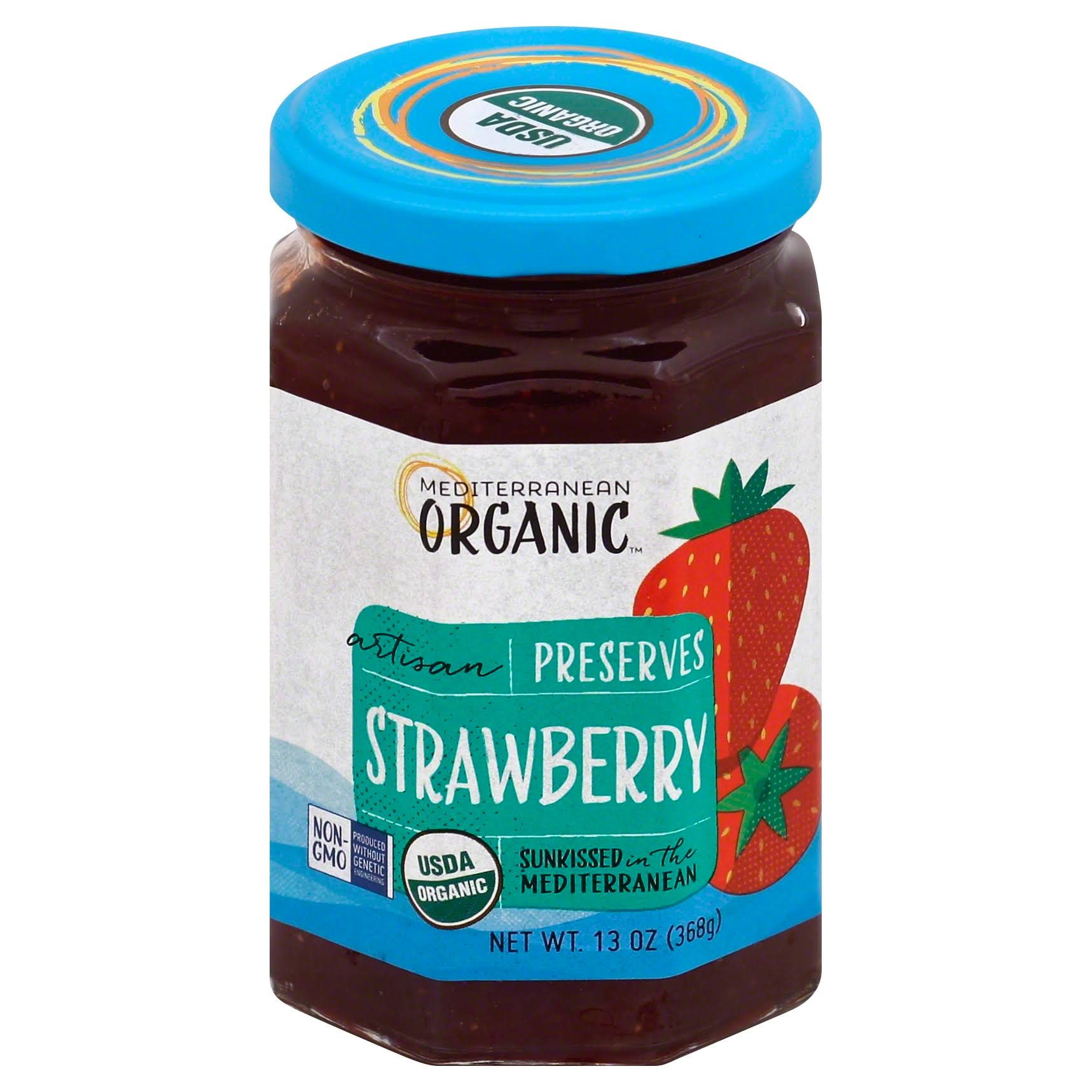 Mediterranean Organics Organic Strawberry Preserves