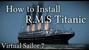 Titanic Sinking Simulator Escape Mode by How To Install The Titanic For Virtual Sailor 7 Subtitles Youtube