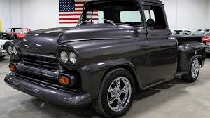 1958 Chevrolet Apache For Sale Near Grand Rapids, Michigan 49512 ... 1958 Chevrolet Apache Fleetside Pick Up Truck Rare Big Back Window Chevy Truckscampers Pinterest File1958 4wd Pickup Truck Napcojpg Wikimedia Your Chance To Own Hank Williams Jrs Classic Pickup Chevroletforum 32 Rat Rod Apache Blue Ma Google Search Trucks For Sale Near Freeport Maine 04032 Classics Sale 4788 Dyler Twice The Fun In A Turbo 58 Speedhunters This Is Rusty On The Outside And Ultramodern