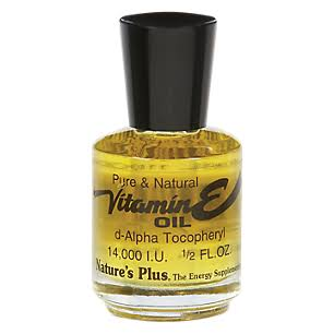 Nature's Plus Pure and Natural Vitamin E Oil