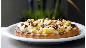 dessert aux pommes sans gluten tarte aux pommes sans gluten à la crème pâtissière légère