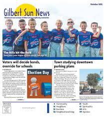 Mother Nature Pumpkin Patch Gilbert Az by Gilbert Sun News October 2015 By Times Media Group Issuu