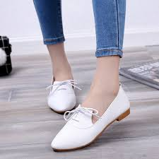 Beautiful Ladies Flat Shoes Casual Women Low Price And High Quality Fashion Simple Zapatos
